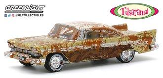 "1:64 1957 Plymouth Belvedere (Gold/White) ""Tulsa, OK ""Tulsarama"" 2007 Underground Vault Unearthing"""