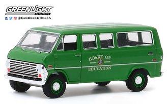 """1:64 1970 Ford Club Wagon """"Board of Education"""""""