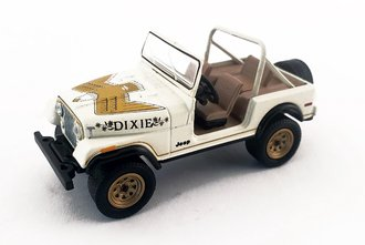 "1:64 1979 Jeep CJ-7 Golden Eagle ""Dixie"""