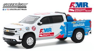 1:64 2020 Chevrolet Silverado 2020 NTT IndyCar Series AMR Safety Team w/Safety Equipment in Bed
