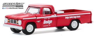 """1:64 1965 Dodge D-200 49th Int'l 500 Mile Sweepstakes Official Truck""""'Dodge Builds Tough Trucks"""""""