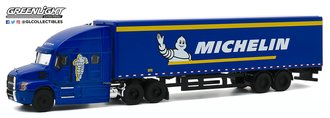 "1:64 2019 Mack Anthem Tractor Trailer ""Michelin Tires"""
