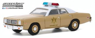 "1:64 1975 Dodge Coronet ""Choctaw County Sheriff"""