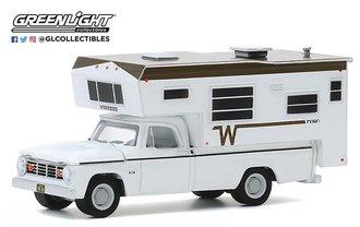 1:64 1966 Dodge D-100 w/Winnebago Slide-In Camper