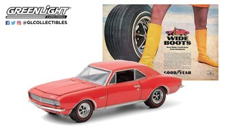 "1:64 Vintage Ad Cars - 1967 Chevrolet Camaro Wide Boots ""New Wide Tread Tires From Goodyear"""