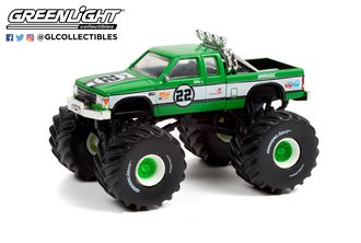 1:64 1986 Chevrolet S-10 Extended Cab Monster Truck #21