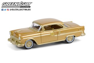 1:64 1955 Chevrolet Bel Air - The 50 Millionth General Motors Car (Gold-Plated)