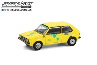 1:64 1974 VW Golf Mk1 - Hartetest Alaska-Feuerland Alaska, USA to Tierra del Fuego, Argentina Car #1