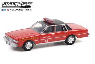 "1:64 1990 Chevrolet Caprice ""Chicago Fire Department"""
