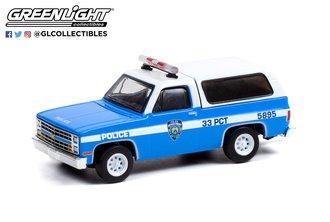 """1:64 1985 Chevrolet K-5 Blazer """"New York City Police Dept (NYPD)"""""""