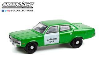 """1:64 1973 AMC Matador """"Matador Cab 'Fare-Master' """" (Green/White)"""