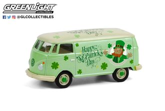 "1:64 Volkswagen Type 2 Panel Van ""St. Patrick's Day 2021"""