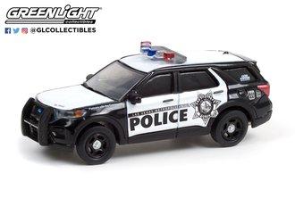 "1:64 Hot Pursuit - 2020 Ford Police Interceptor Utility ""Las Vegas Metropolitan Police"""