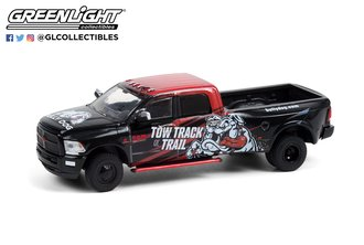 """1:64 2018 RAM 3500 Dually Pickup """"Bully Dog - Tow, Track or Trail"""""""
