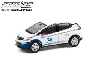 """1:64 2017 Chevrolet Bolt - United States Postal Service (USPS) """"Powered by Electricity"""""""