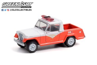 1:64 1967 Jeep Jeepster Commando - Chattanooga Rural Fire Dept. No. 3 (Hobby Exclusive)