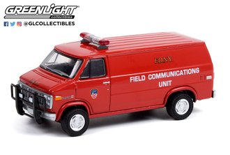 1:64 1989 GMC Vandura - FDNY Field Communications Unit