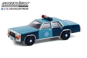 1:64 1981 Ford LTD - Massachusetts State Police 1982 Melville/Jackson Unit Shootout, N.Attleboro, MA
