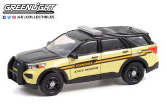 1:64 Hot Pursuit - 2020 Ford Police Interceptor Utility - Tennessee State Trooper