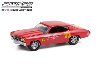 1:64 Doc Mayner's 1972 Chevrolet Chevelle #71 - J. Gallery Drainage Winthrop, IA - Pennzoil