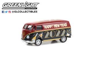 """1:64 Volkswagen Type 2 Panel Van """"New Year 2022"""" (Hobby Exclusive)"""