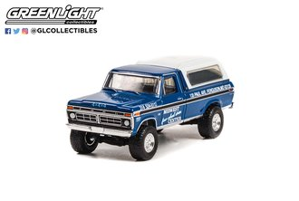 """1:64 1974 Ford F-250 w/Camper Shell """"Midwest Four Wheel Drive Center"""""""