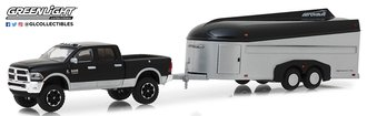 1:64 Hitch & Tow Series 15 - 2017 RAM 2500 w/Aerovault Trailer