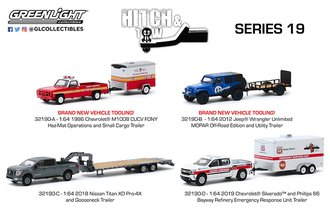 1:64 Hitch & Tow Series 19 (Set of 4)