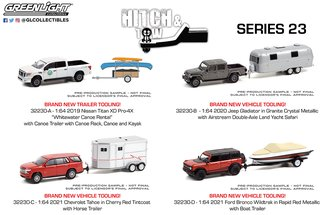 1:64 Hitch & Tow Series 23 (Set of 4)