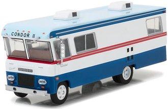 1:64 H.D. Trucks Series 9 - 1972 Condor II RV (Red/White/Blue)