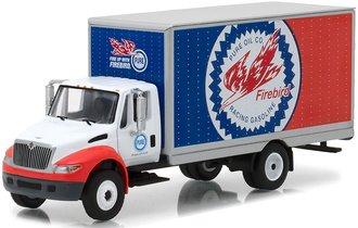 "1:64 International DuraStar Box Van ""Pure Oil Co."" Firebird Racing Gasoline"