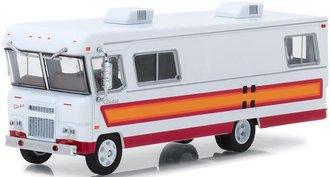 1:64 H.D. Trucks Series 13 - 1972 Condor II RV - (White w/Orange, Red & Maroon Stripes)