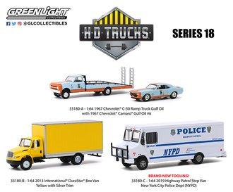 1:64 H.D. Trucks Series 18 (Set of 3)