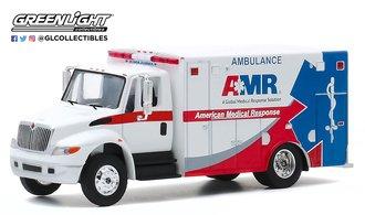 "1:64 H.D. Trucks Series 19 - 2013 International DuraStar ""American Medical Response (AMR) Ambulance"""