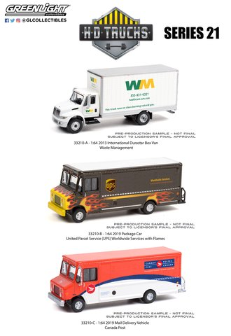 1:64 H.D. Trucks Series 21 (Set of 3)