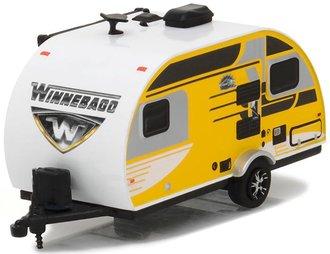 1:64 Hitched Homes Series 1 - 2016 Winnebago Winnie Drop (Yellow/Black)