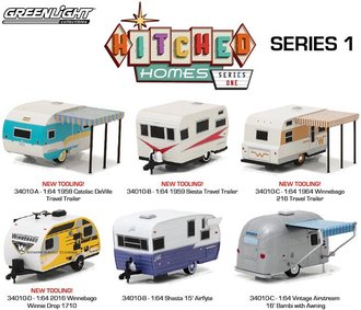 1:64 Hitched Homes Series 1 (Set of 6)