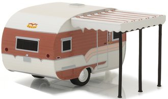 1:64 Hitched Homes Series 2 - 1959 Catolac DeVille (Brown/Tan)