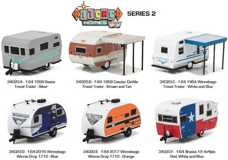 1:64 Hitched Homes Series 2 (Set of 6)