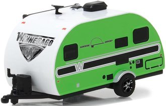 1:64 Hitched Homes Series 4 - 2017 Winnebago Winnie Drop (Green)