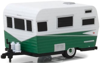 1:64 Hitched Homes Series 5 - 1958 Siesta (White/Green)