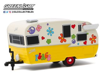 "1:64 Hitched Homes Series 8 - Shasta Airflyte ""Peace & Love"""