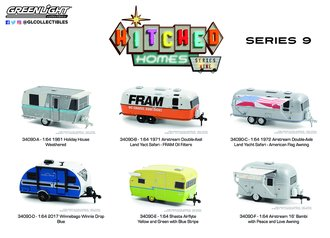 1:64 Hitched Homes Series 9 (Set of 6)