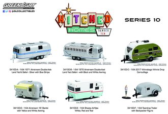 1:64 Hitched Homes Series 10 (Set of 6)