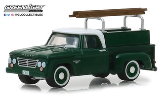 1:64 Blue Collar Collection Series 5 - 1963 Dodge D-100 w/Ladder Rack