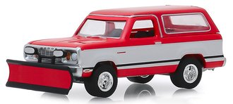 1:64 Blue Collar Collection Series 6 - 1977 Dodge Ramcharger w/Snow Plow