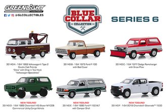 1:64 Blue Collar Collection Series 6 (Set of 6)