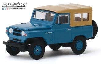 1:64 All-Terrain Series 9 - 1968 Nissan Patrol (Mt. Fuji Blue)