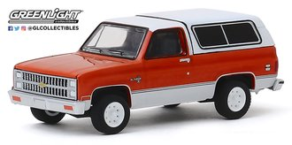 1:64 All-Terrain Series 9 - 1981 Chevrolet K5 Blazer (Burnt Orange Metallic/Frost White)