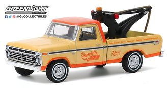 1:64 Blue Collar Collection Series 7 - 1973 Ford F-100 w/Drop-In Tow Hook